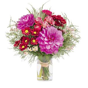 Bouquet de fleurs Magenta Pour le plaisir