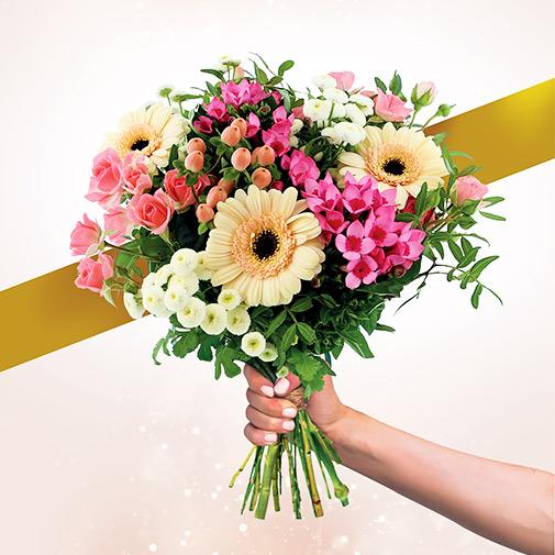 Bouquet de fleurs Parfum de juin