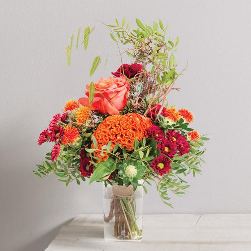 Bouquet de fleurs Paprika