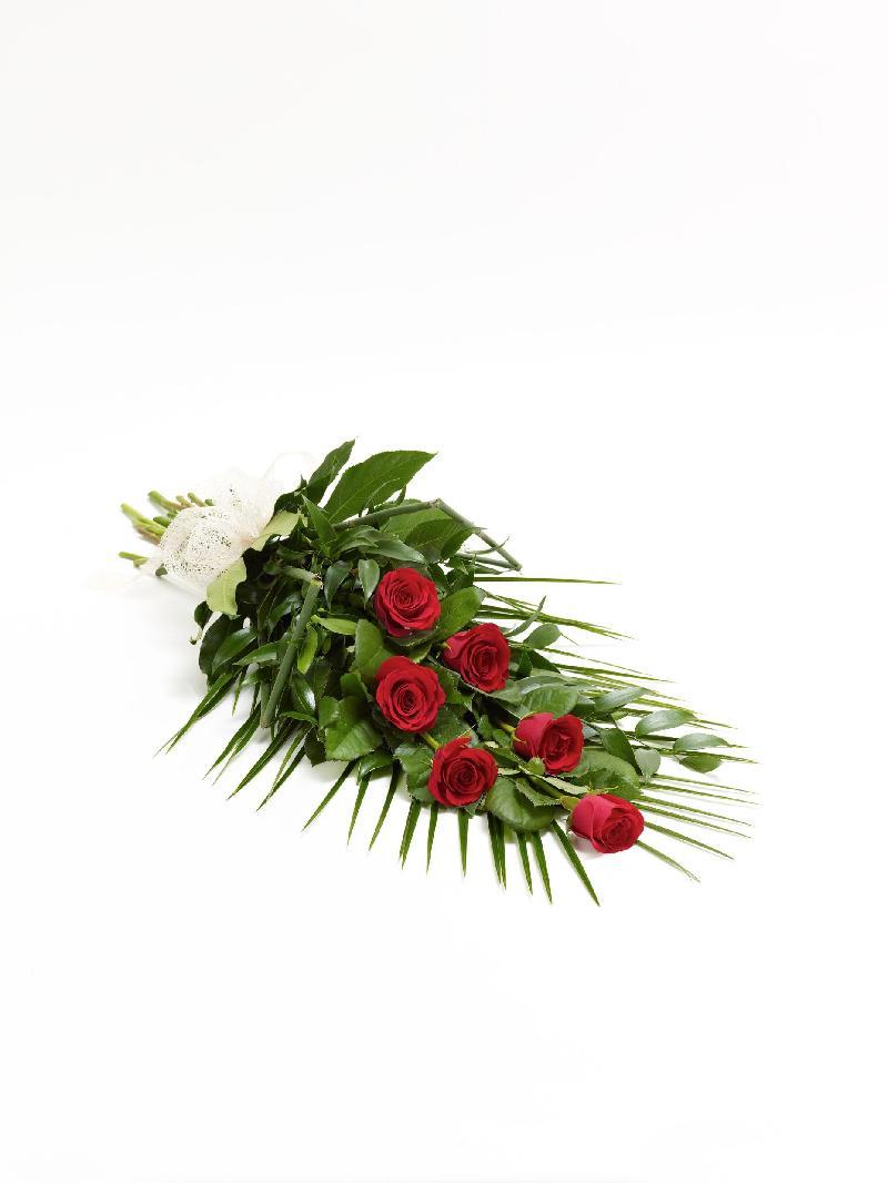 Bouquet de fleurs SIMPLE ROSE SHEAF -