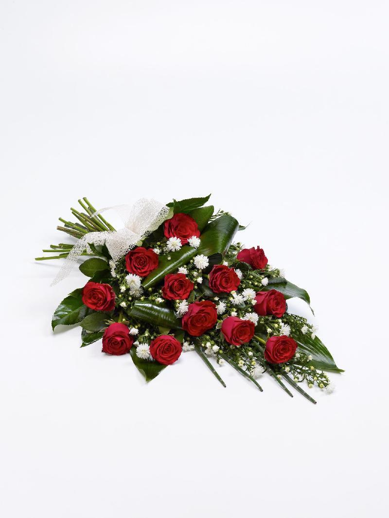 Bouquet de fleurs CLASSIC ROSE SHEAF - RED