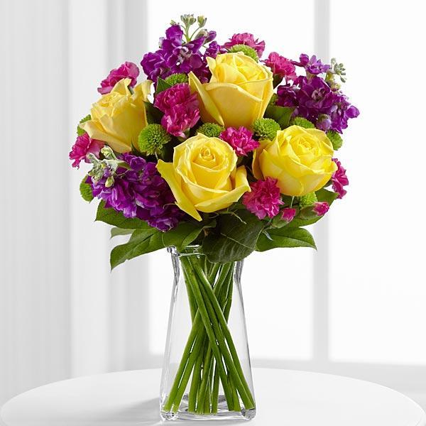 Bouquet de fleurs The Happy Times™ Bouquet by FTD® - VASE INCLUDED