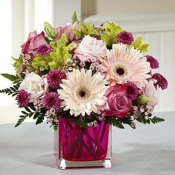Bouquet de fleurs The FTD® Perfect Princess™ New Baby Bouquet