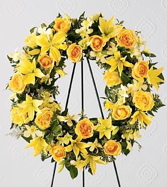 Bouquet de fleurs The FTD® Ring of Friendship™ Wreath