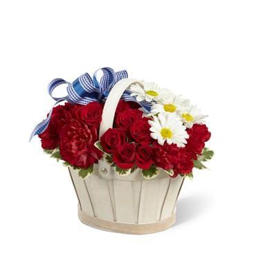 Bouquet de fleurs Justice Basket