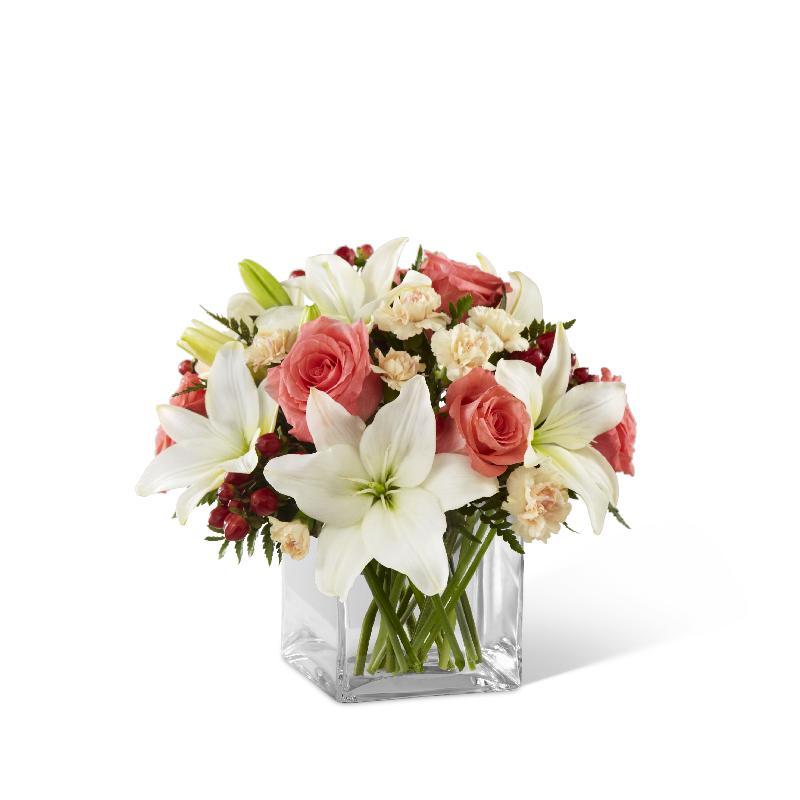 Bouquet de fleurs The Blushing Beauty Bouquet