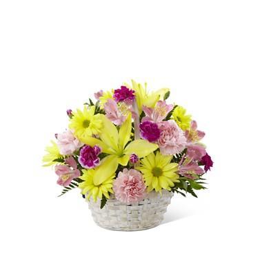 Bouquet de fleurs Basket of Cheer