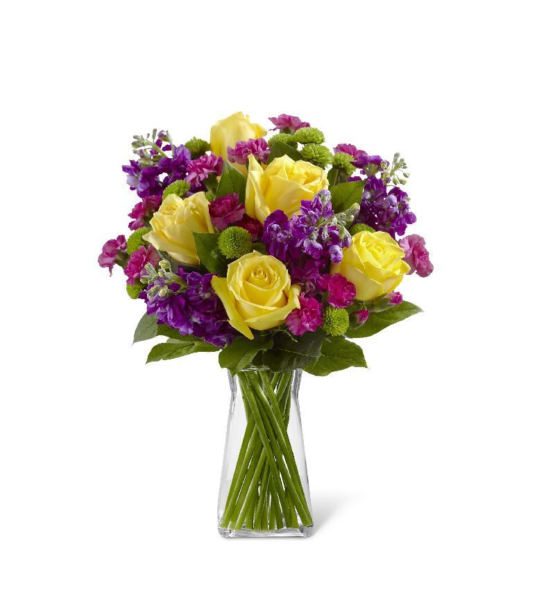 Bouquet de fleurs The Happy Times