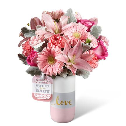 HMG - The FTD® Sweet Baby Girl™ Bouquet by Hallmark