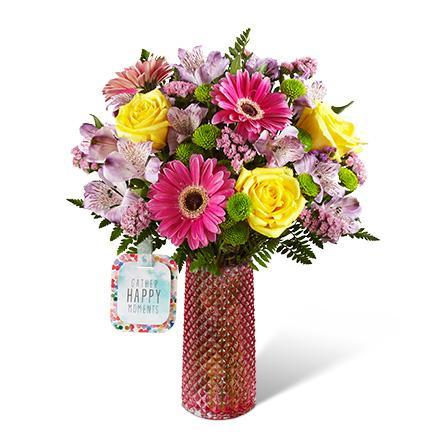 Bouquet de fleurs HMJ - The FTD® Happy Moments™ Bouquet by Hallmark