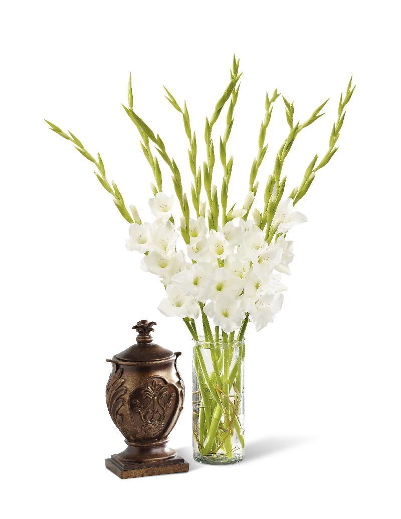 Bouquet de fleurs At Peace Bouquet Vase included
