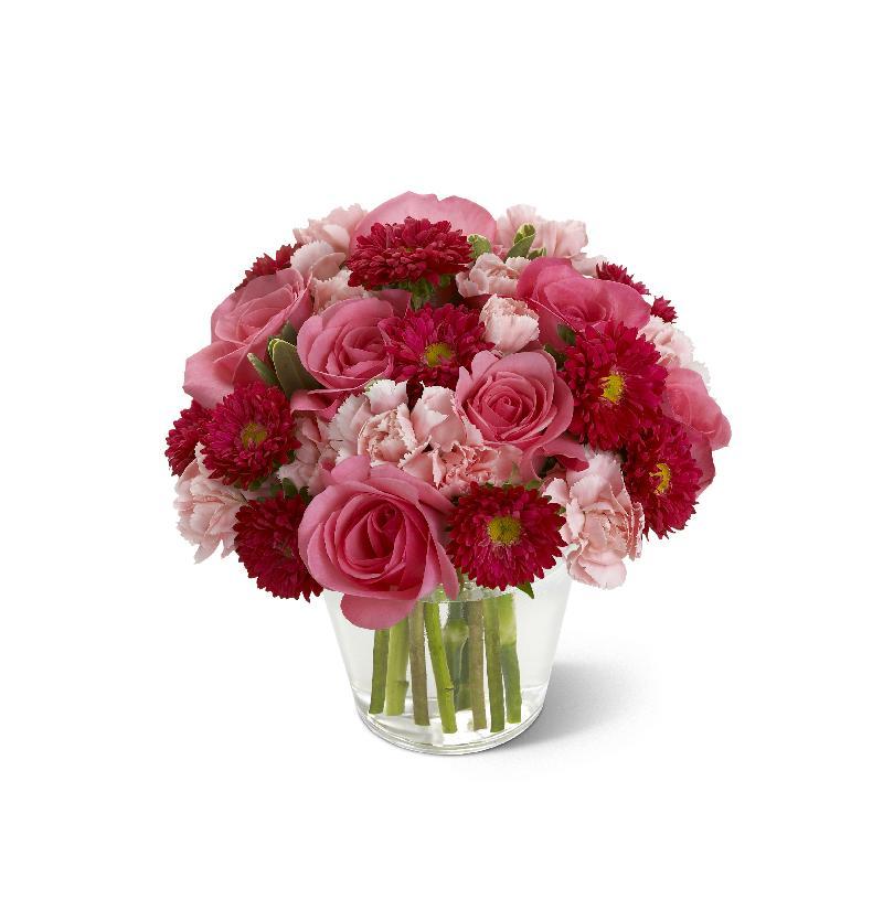 Precious Heart Bouquet vase included