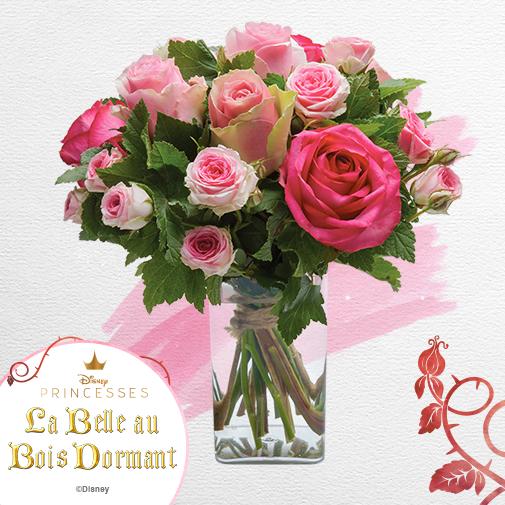 Bouquet de fleurs Aurore