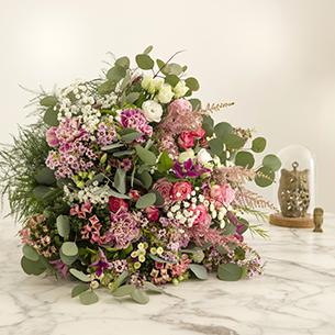 Bouquet de fleurs Bonheur Intense Nouvel an