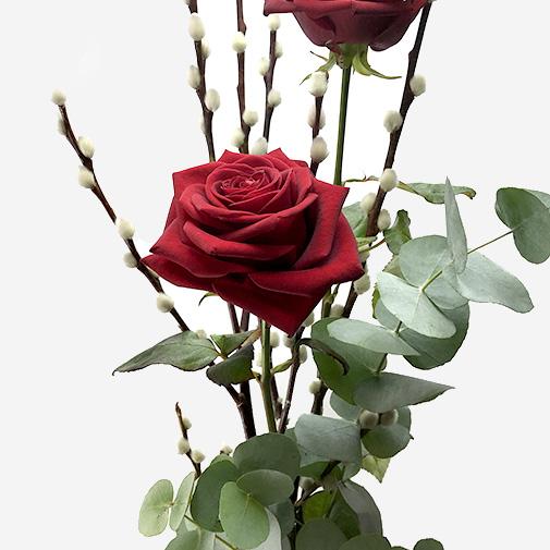Fleurs et cadeaux Duo d'amour et ses amandes gourmandes