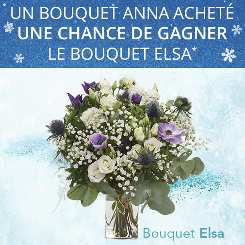 Bouquet de fleurs Anna