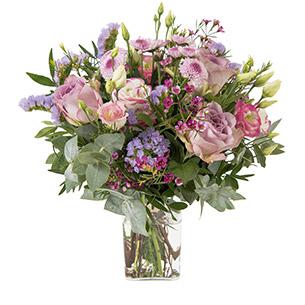 Bouquet de fleurs Ballerine Fleur pastel