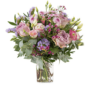 Bouquet de fleurs Ballerine Page tendance Tutti Frutti