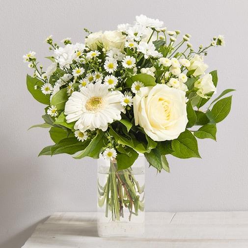 Fleurs et cadeaux Balade d'été et son vase offert