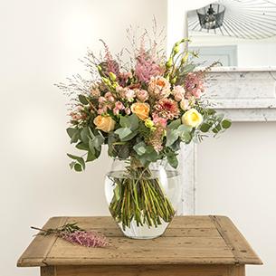 Bouquet de fleurs Bohème chic Fête des Mères