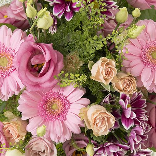 Bouquet de fleurs Bois de rose