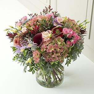 Bouquet de fleurs Clé des songes Saint Valentin