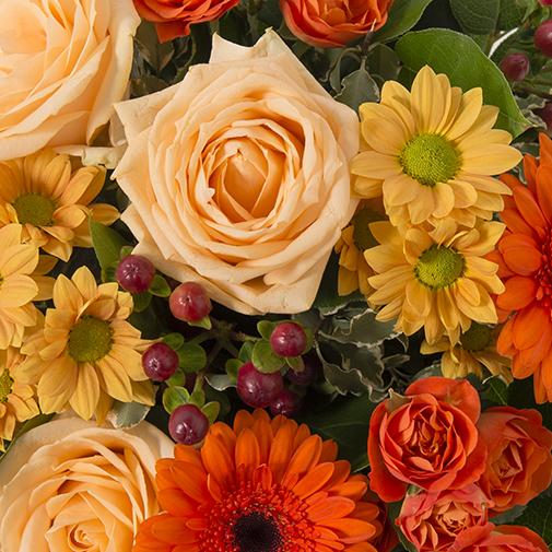 Bouquet de fleurs Capucine