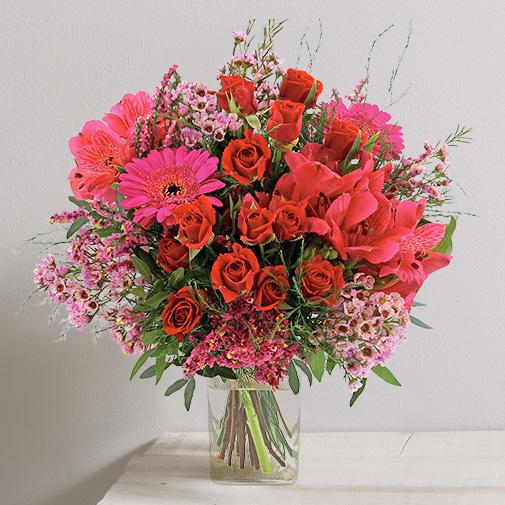 Fleurs et cadeaux Déclaration et son vase offert
