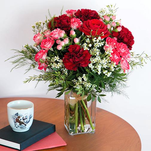 Déclaration et son vase offert