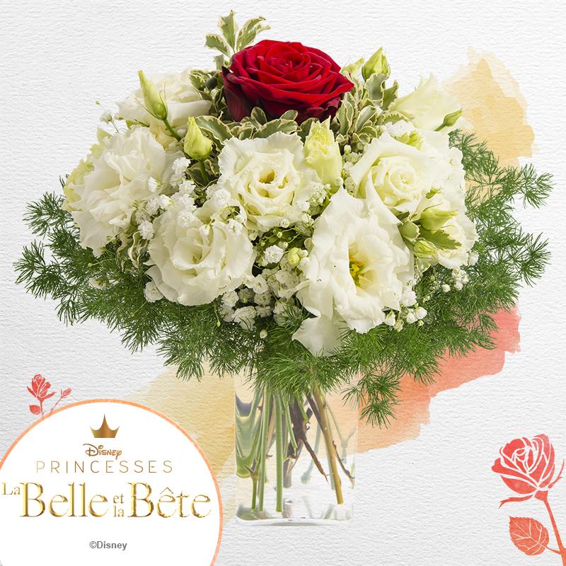 Bouquet Eternelle Inspire De La Belle Et La Bete Rapidite Remise