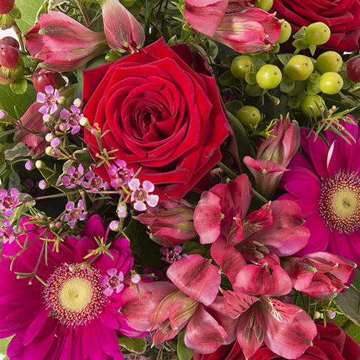 Bouquet de fleurs Grenadine