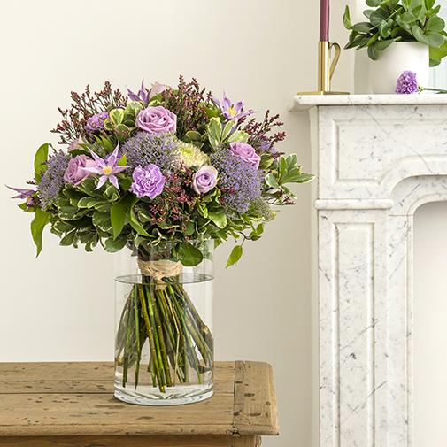 Bouquet de fleurs Jardin secret