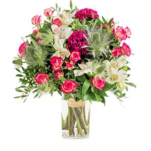 Maman cherie et son vase offert - interflora