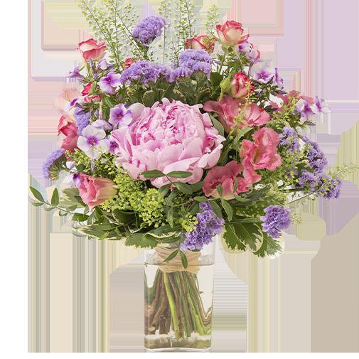 Maman chérie et son vase offert
