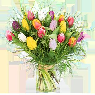 Bouquet de fleurs Nos charmantes tulipes Tulipes