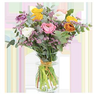 Bouquet de fleurs Nos merveilleuses renoncules