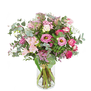 Bouquet de fleurs Oriane Bon rétablissement