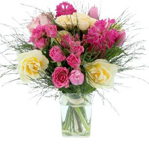 Bouquet de fleurs Pâques Printanières