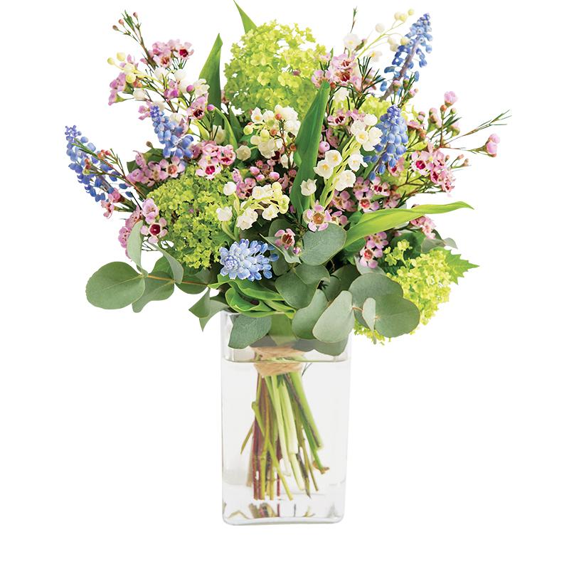 porte bonheur et son vase offert bouquet festif 1er mai rapidit remise en main propre en. Black Bedroom Furniture Sets. Home Design Ideas