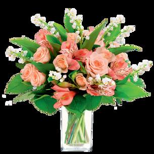 Bouquet de fleurs Porte bonheur