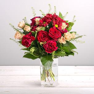 Bouquet de fleurs Salsa Pour le plaisir