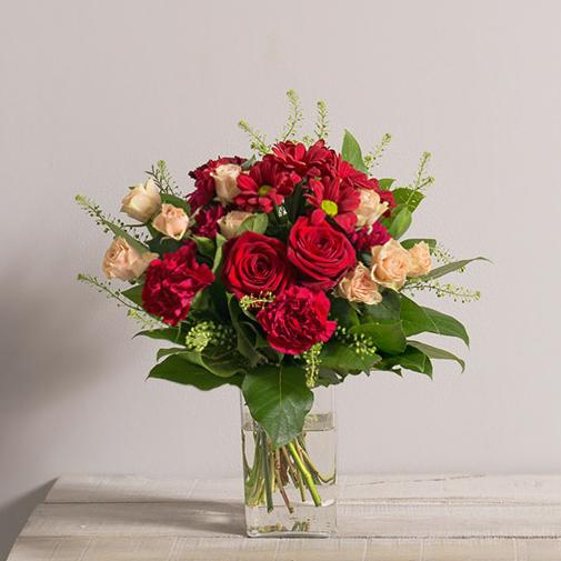 Bouquet de fleurs Salsa