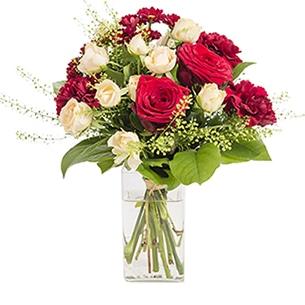 Bouquet de fleurs Salsa Saint-Valentin