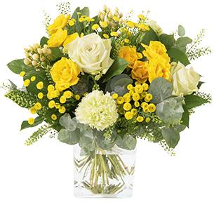 Bouquet de fleurs Sunshine Pâques