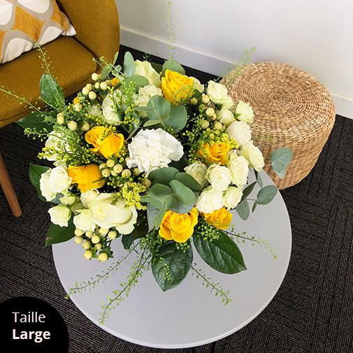 Bouquet de fleurs Sunshine