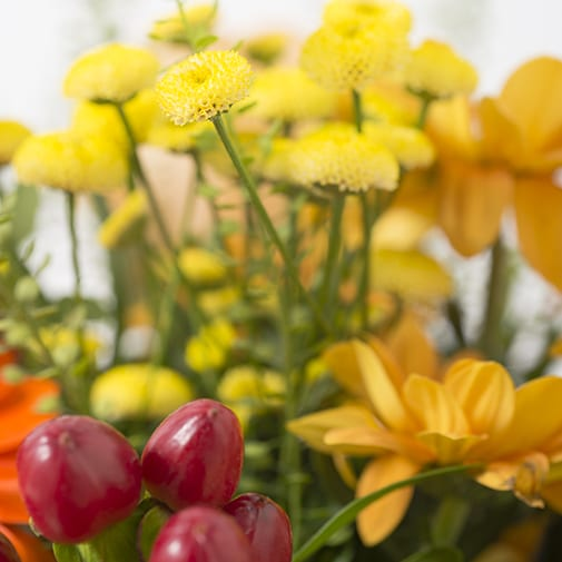 Bouquet de fleurs Toscane