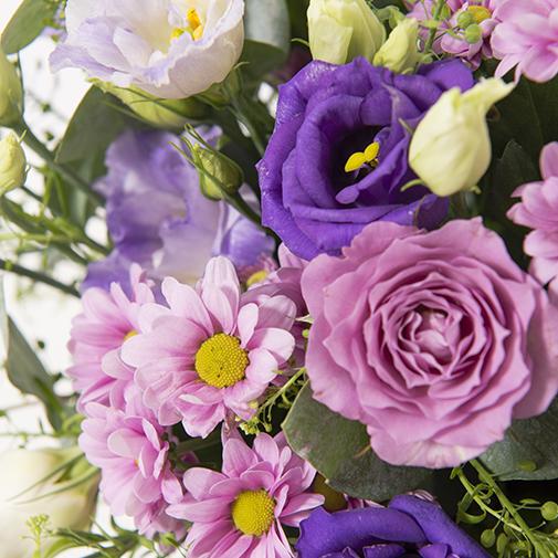 Bouquet de fleurs Violine