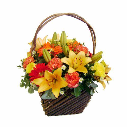 Bouquet de fleurs Tropical Sunlight
