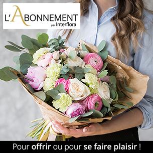 Bouquet de fleurs Abonnement - bouquet de saison - tous les mois - pour une durée de 3 mois - Taille Small Code Promo