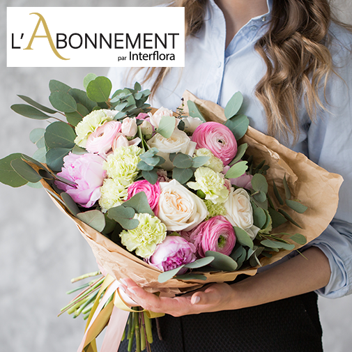 Bouquet de fleurs Abonnement bouquet du fleuriste
